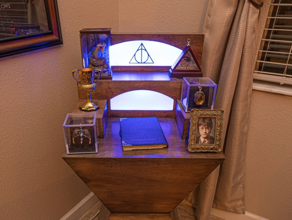 villa de vacances wizard's way loma homes floride harry potter Horcruxes