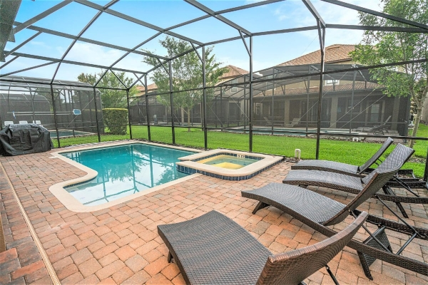 villa de vacances wizard's way loma homes floride harry potter piscine