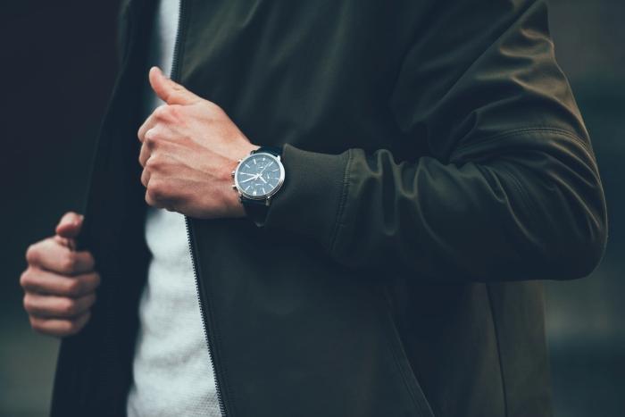 montre de luxe style vestimentaire homme vêtements sportifs montre accessoire de mode